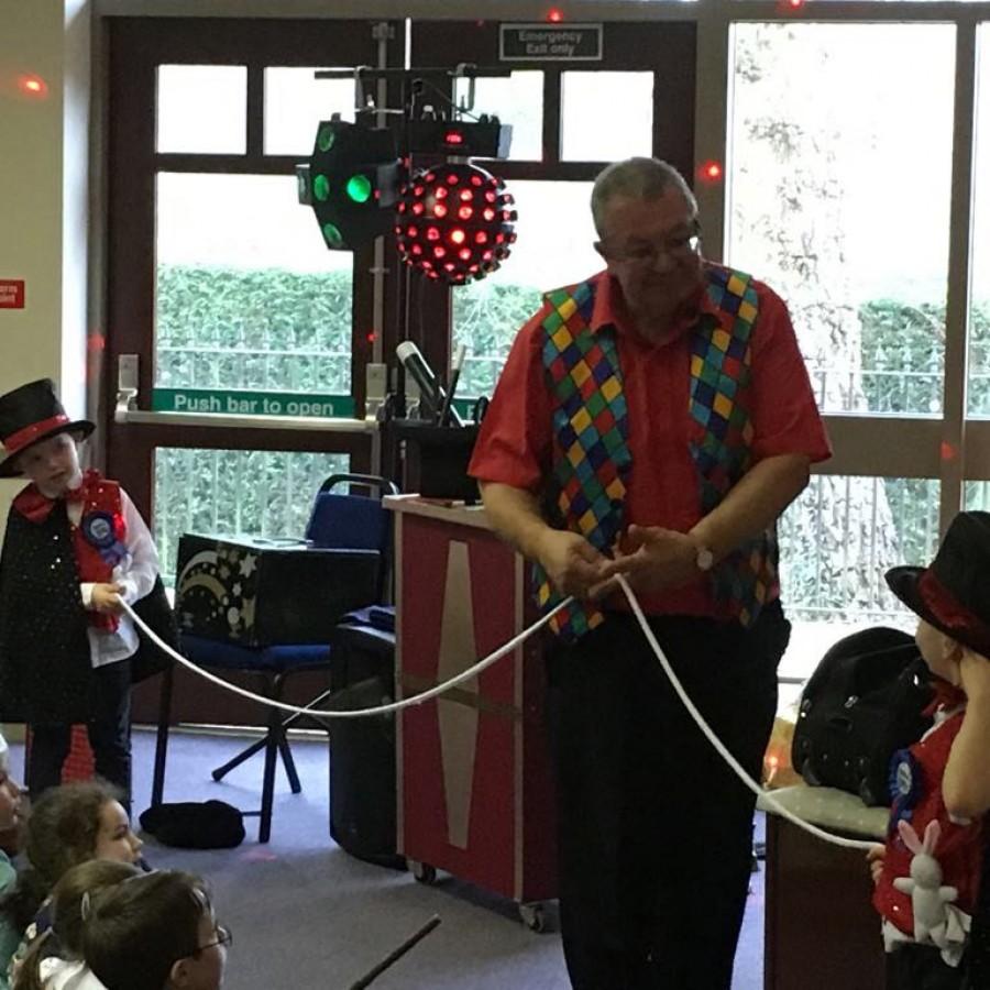 Dorridge, Solihull magic party